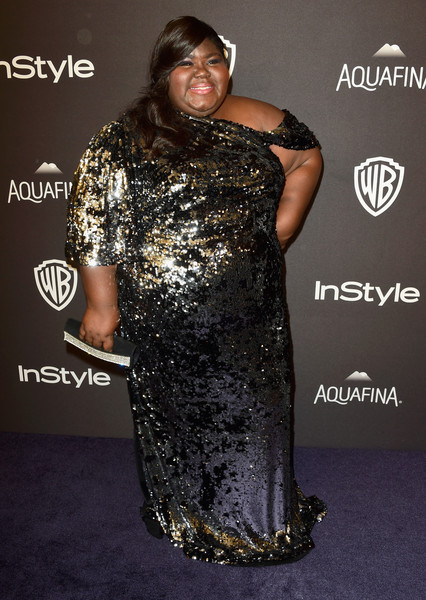Gabourey Sidibe Sequin Dress