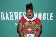 Gabourey Sidibe Print Dress