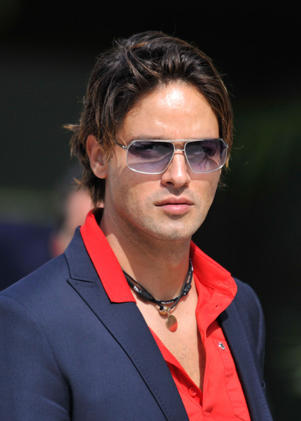 Gabriel Garko Rectangular Sunglasses