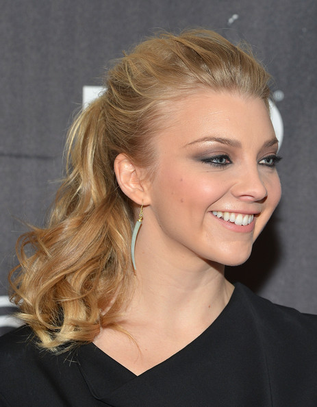 More Pics of Natalie Dormer Ponytail (1 of 12) - Ponytail Lookbook - StyleBistro