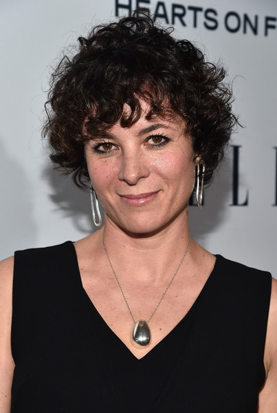 Garance Dore Short Curls [elle,olay,red carpet,hair,hairstyle,face,chin,forehead,human,black hair,neck,smile,layered hair,sunset tower,west hollywood,california,6th annual women in television dinner,garance dore,hearts on fire diamonds]