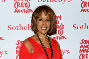 Gayle King Leather Clutch