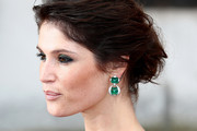 Gemma Arterton Dangling Gemstone Earrings