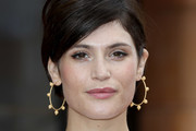 Gemma Arterton Gold Hoops
