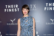 Gemma Arterton Print Dress