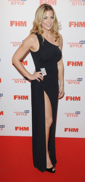 Gemma Atkinson One Shoulder Dress