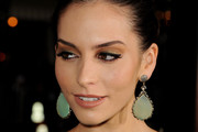 Genesis Rodriguez Dangling Gemstone Earrings