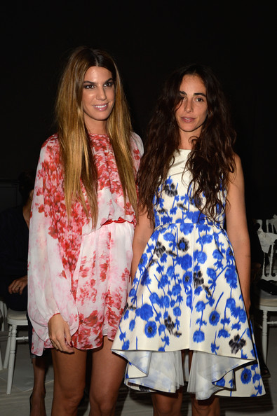 More Pics of Bianca Brandolini D'Adda Long Straight Cut (4 of 8) - Bianca Brandolini D'Adda Lookbook - StyleBistro