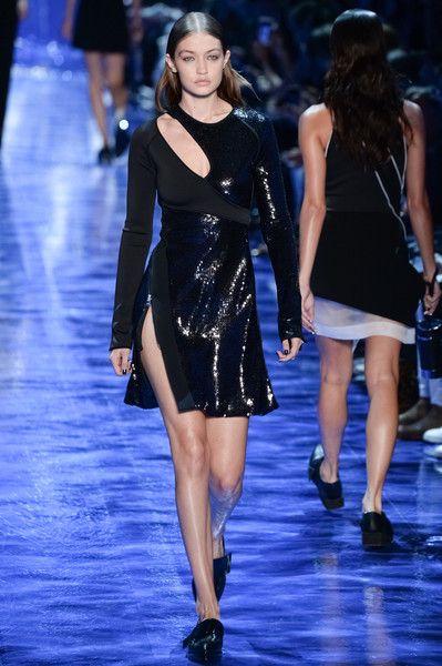 Gigi Hadid Cutout Dress