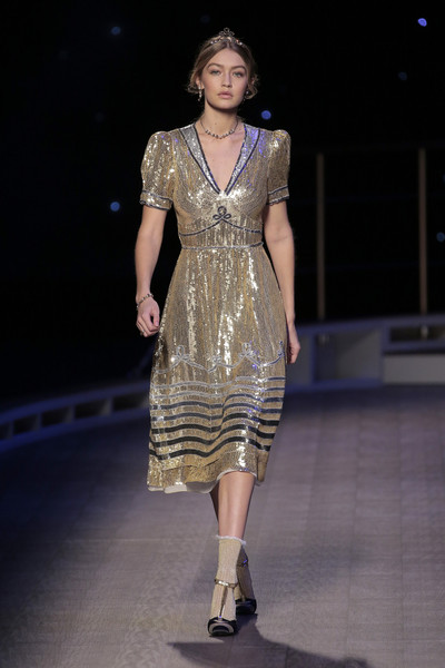 Gigi Hadid Sequin Dress
