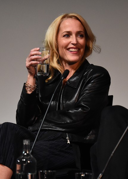 Gillian Anderson Leather Jacket