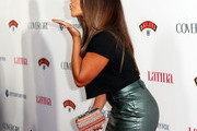 Gina Rodriguez Beaded Clutch