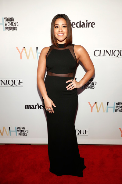 Gina Rodriguez Form-Fitting Dress