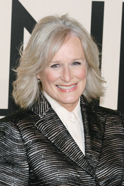 Glenn Close kept it classic with this textured mid-length bob when she attended the Giorgio Armani SuperPier show.
