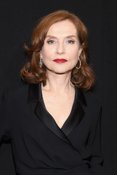 Isabelle Huppert's Sweet Curls