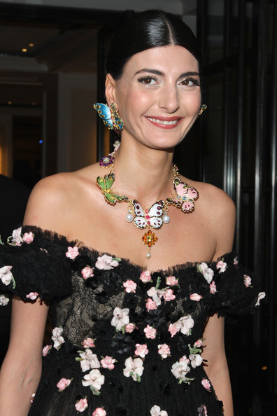 Giovanna Battaglia Gemstone Statement Necklace