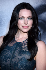 Laura Prepon attended the New York premiere of 'The Girl on the Train' wearing her signature face-framing waves.