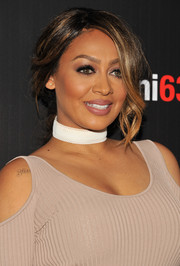 La La Anthony was sexily coiffed with this loose braid at the New York premiere of 'The Girlfriend Experience.'