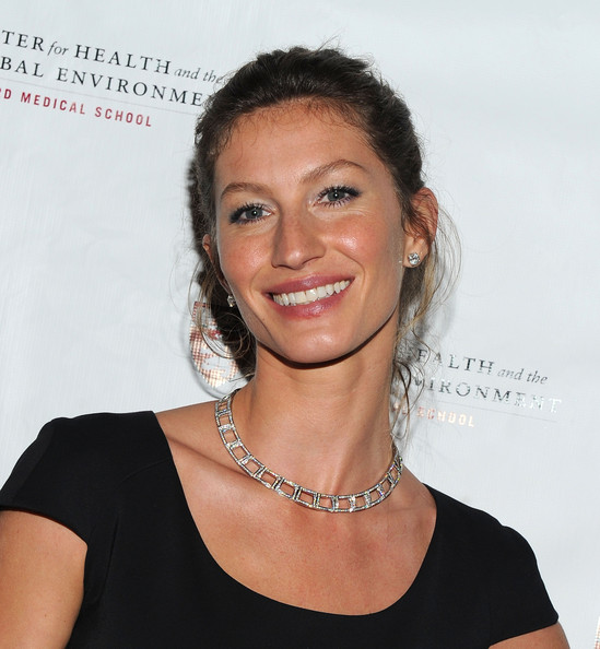 Gisele Bundchen Diamond Collar Necklace
