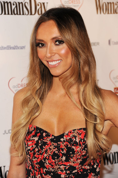 Giuliana Rancic Long Curls