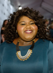 Gabourey Sidibe looked cute with her tight curls at the Glamour Women of the Year 2016.