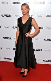 Kaley Cuoco-Sweeting opted for a classic look with this Lela Rose LBD at the Glamour Women of the Year Awards.