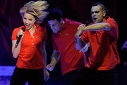 Dianna Agron and Mark Salling Photo