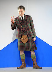 On formal occasions, real men wear kilts.