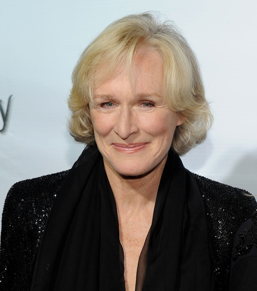 Glenn Close Curled Out Bob [driving miss daisy,hair,face,blond,hairstyle,eyebrow,chin,lip,forehead,smile,premiere,glenn close,curtain call,new york city,john golden theatre,broadway,opening night - arrivals]