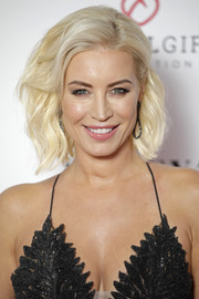 Denise van Outen looked stylish with her platinum-blonde waves at the Global Gift Gala London.
