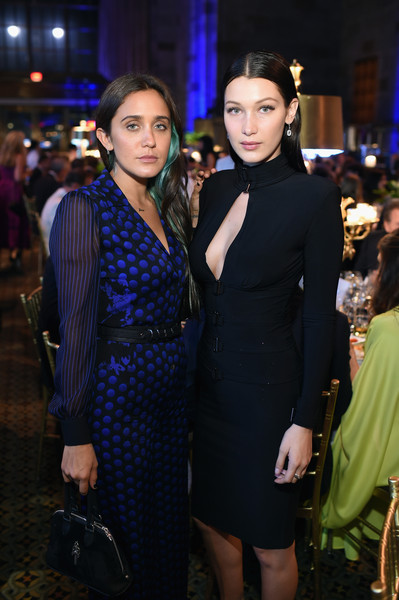 More Pics of Bella Hadid Suede Clutch (1 of 30) - Bella Hadid Lookbook - StyleBistro [fashion,dress,cobalt blue,event,little black dress,formal wear,electric blue,haute couture,suit,fashion design,global lyme alliance - uniting,l,cipriani 42nd street,new york city,lyme-free world inaugural gala,lyme-free world,bella hadid,jesse jo stark]