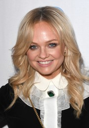 Emma Bunton looked as sweet as ever with her face-framing waves at the Make Some Noise Gala.