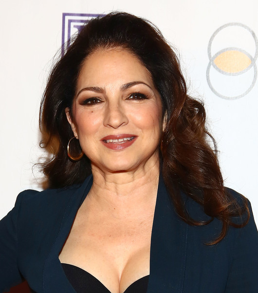 Gloria Estefan Long Curls