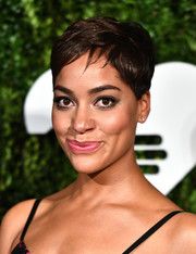 Cush Jumbo looked charming with her pixie at the God's Love We Deliver, Golden Heart Awards.