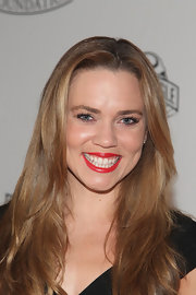 Natalie Coughlin looked fresh with her wavy tresses down at the 2011 Golden Goggles.