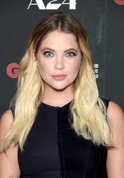 Ashley Benson sported a striking ombre 'do at the New York premiere of 'Good Time.'