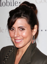 Jamie-Lynn Sigler wore her hair in a cute classic bun at the Google Music launch party.