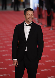 Miguel Angel Silvestre graced the Goya Cinema Awards in an elegant black tux.