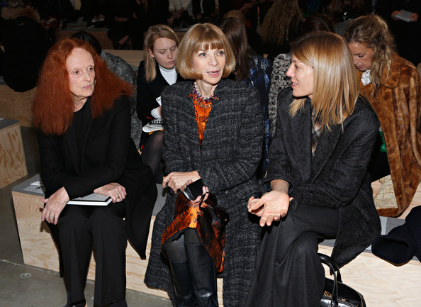 Reed Krakoff  - Front Row - Fall 2013 Mercedes-Benz Fashion Week