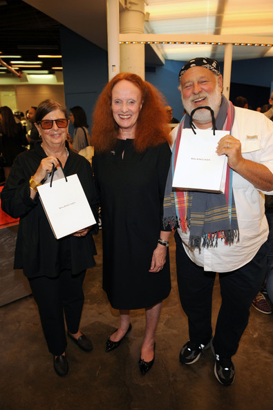 Balenciaga And Grace Coddington Host Fashion's Night Out