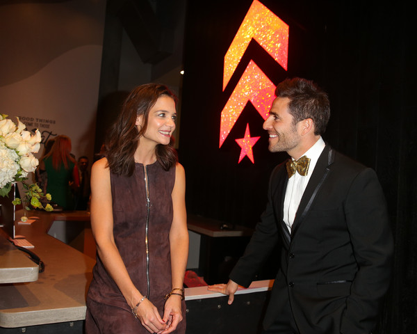 More Pics of Katie Holmes Ankle Boots (1 of 10) - Katie Holmes Lookbook - StyleBistro