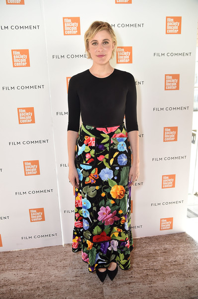 Greta Gerwig Long Skirt