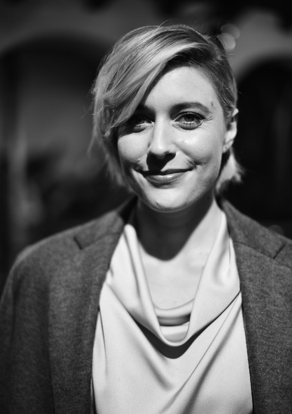 Greta Gerwig Short Cut With Bangs