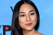 Greta Lee Long Straight Cut