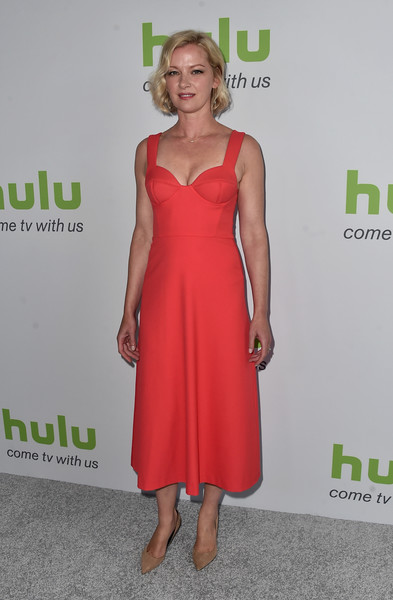 Gretchen Mol Corset Dress