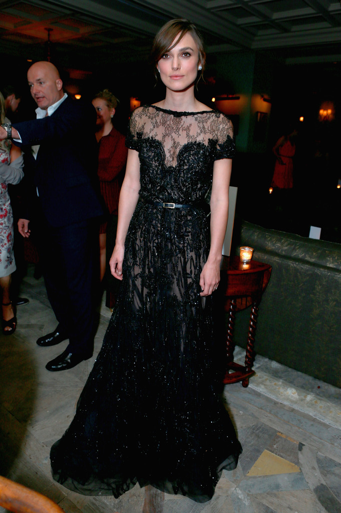 Actress Keira Knightley attends the Grey Goose Vodka and DiamondsForever party for 'Anna Karenina' at Soho House Toronto on September 7, 2012 in Toronto, Canada.