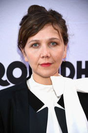 Maggie Gyllenhaal took a risk with this messy, old-school updo at the Broadway opening of 'Groundhog Day.'