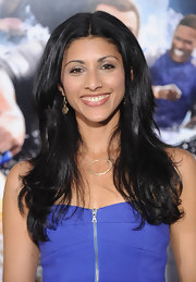 Reshma Shetty wore her hair in a high-volume center-parted 'do for the 'Grown Ups' premiere.