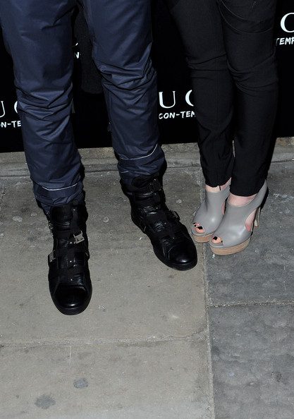 cc7a49169 More Pics of Jamie Campbell Bower Combat Boots (1 of 3) - Boots Lookbook -  StyleBistro