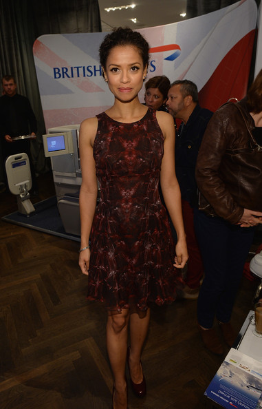 Gugu Mbatha-Raw Cocktail Dress